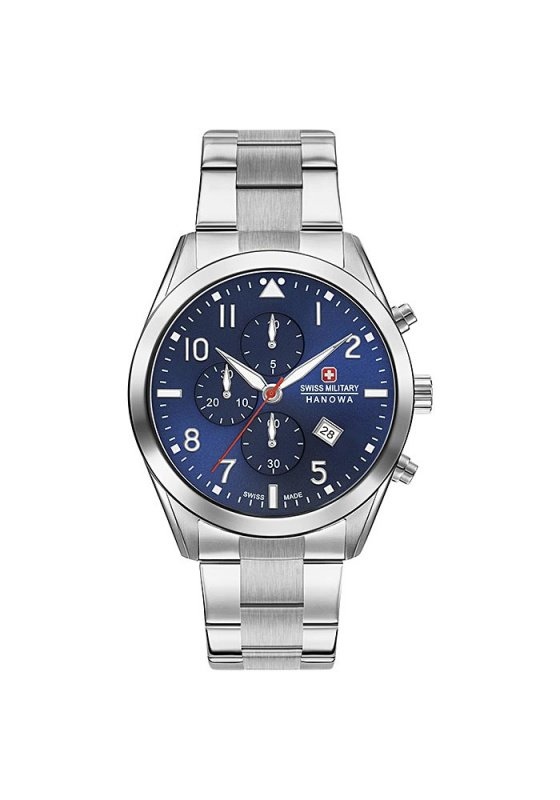 "Image of ""SWISS MILITARY HANOWA Helvetus Chrono 6-5316.04.003 Men's Bracelet Watch"""