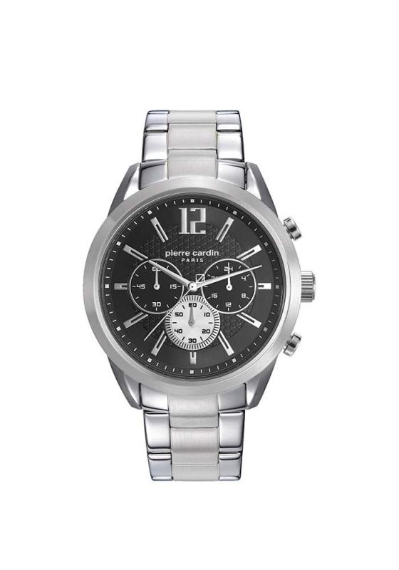 "Image of ""PIERRE CARDIN Saint-Ouen Homme PC108081F04 Men's Bracelet Watch"""