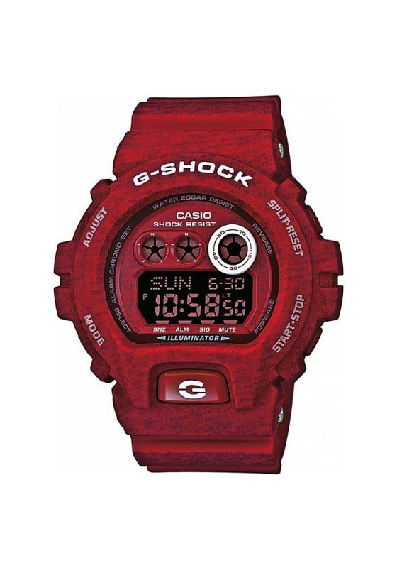 """Εικόνα του """"CASIO G-Shock GD-X6900HT-4ER Ανδρικό Ρολόι με Κόκκινο Λουρί Σιλικόνης"""""""