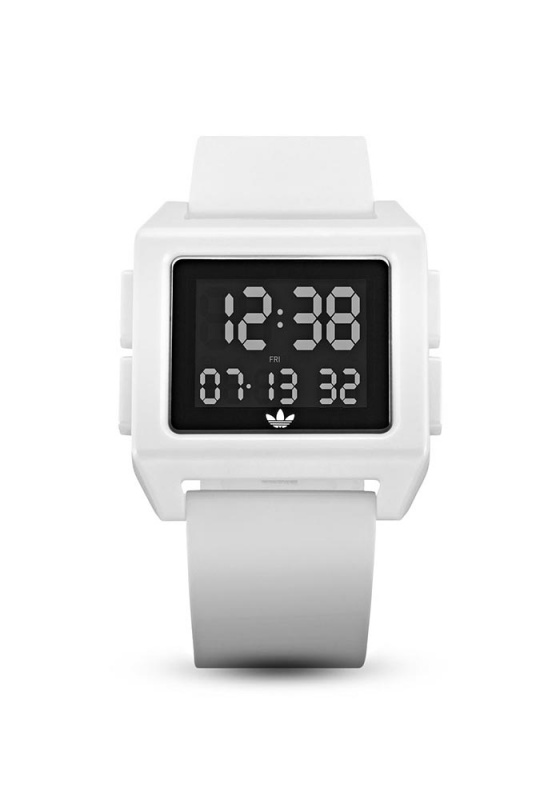 "Image of ""ADIDAS Archive_SP1 Z15-100-00 Men's Watch with White Silicon Strap"""