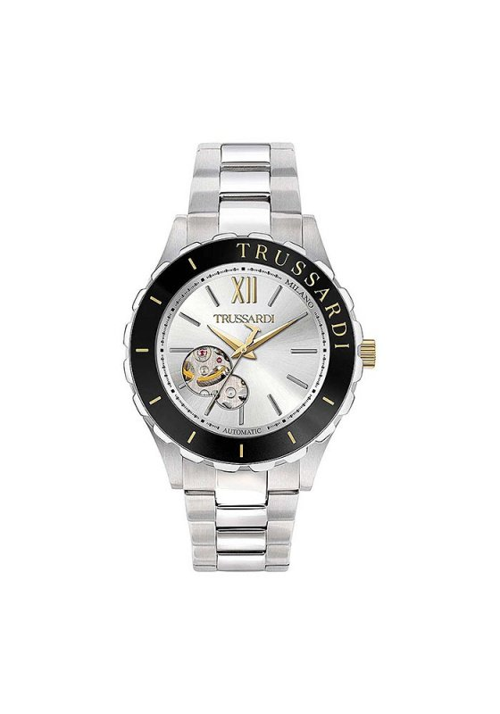 "Image of ""Trussardi T-Logo Automatic R2423143001 Men's Bracelet Watch"""