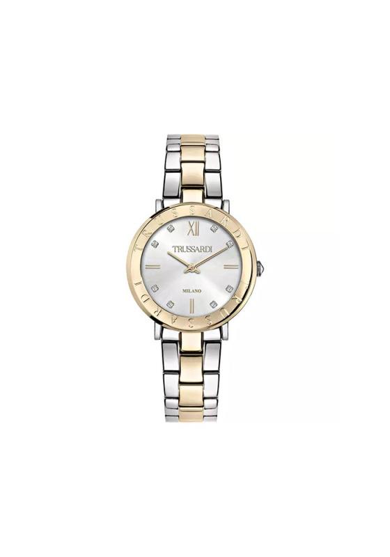 """Εικόνα του """"TRUSSARDI T-Vision R2453115510 Γυναικείο Ρολόι με Μπρασελέ"""""""