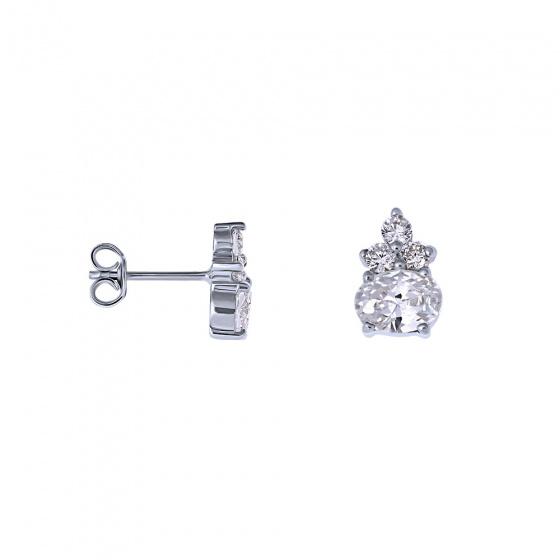 """Image of """"""""Heirloom"""" silver earrings"""""""
