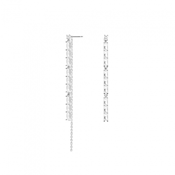 "Image of ""PDPAOLA ""Idris"" silver earrings """