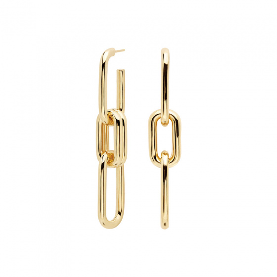 "Image of ""PDPAOLA ""Muse"" earrings gold plated"""