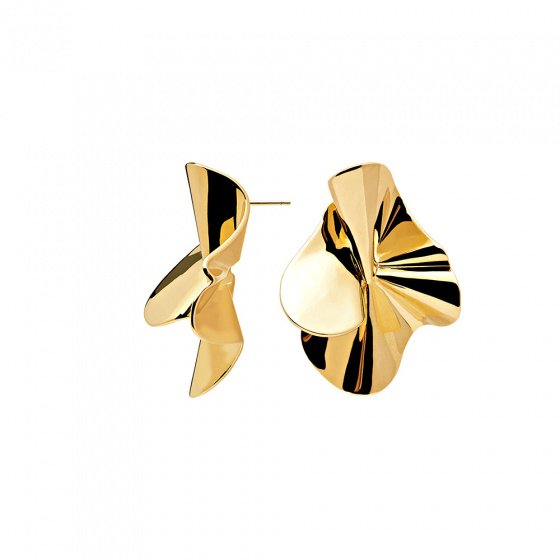 """Image of """"PDPAOLA """"Nomad"""" earrings gold plated, AR01-076-U"""""""