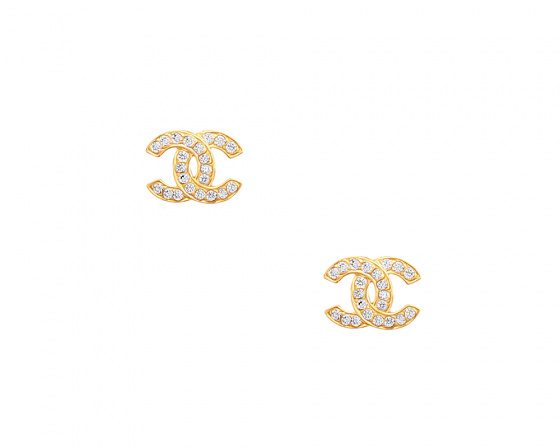 "Image of """"Stronger Together"" silver earrings gold plated"""