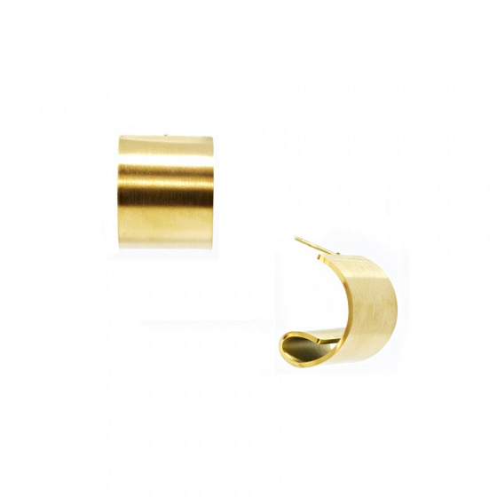 "Image of ""Stainless steel gold earrings, TER429"""