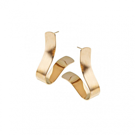 "Image of ""Stainless steel rose gold earrings, TER432"""
