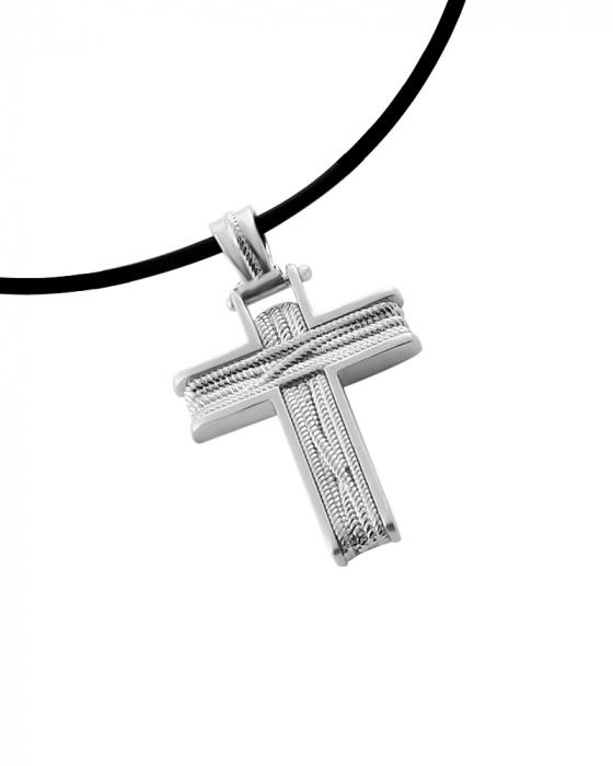 "Image of ""Men cross silver wire"""