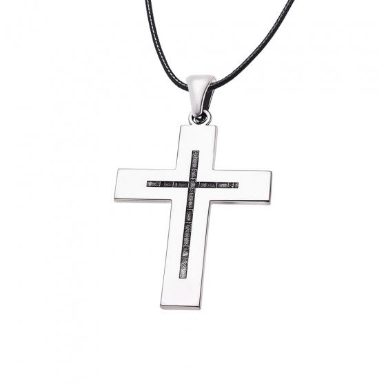 """Εικόνα του """"Ανδρικός σταυρός ασημένιος - 69017"""""""