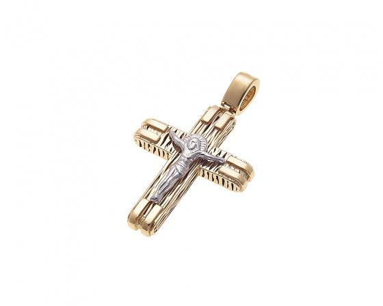 "Image of ""Gold men's cross Κ14, H223"""