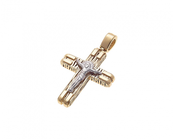 "Image of ""Gold men's cross Κ14, H223"""