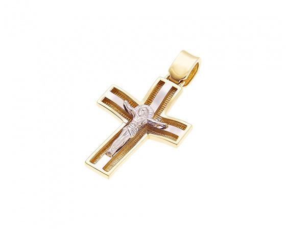 """Εικόνα του """"Χρυσός ανδρικός σταυρός Κ14, H336"""""""