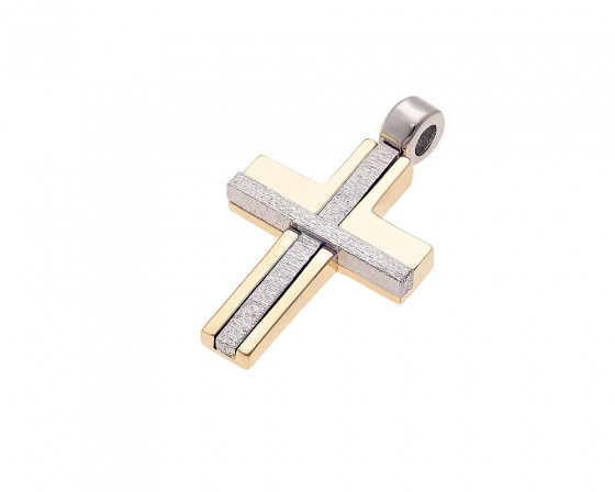 "Image of ""Gold men's cross Κ14, Τ010"""