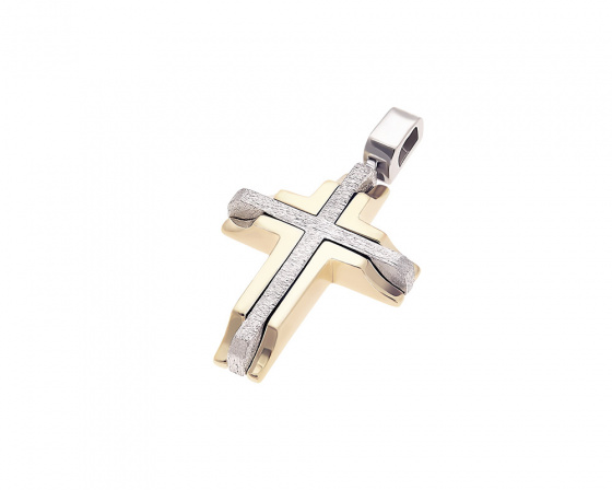 "Image of ""Gold men's cross Κ14, T021"""