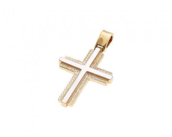 """Image of """"Gold men's cross Κ14, Η376"""""""