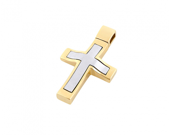 "Image of ""Gold men's cross Κ14, Τ01418"""