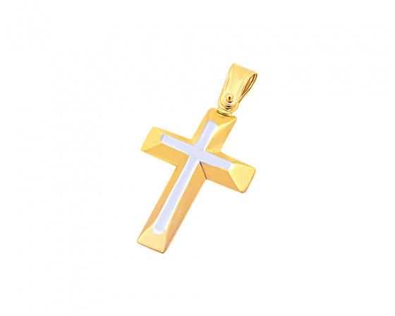 """Εικόνα του """"Χρυσός ανδρικός σταυρός Κ14, T02019"""""""