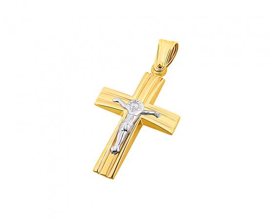 """Εικόνα του """"Χρυσός ανδρικός σταυρός Κ14, T04919"""""""