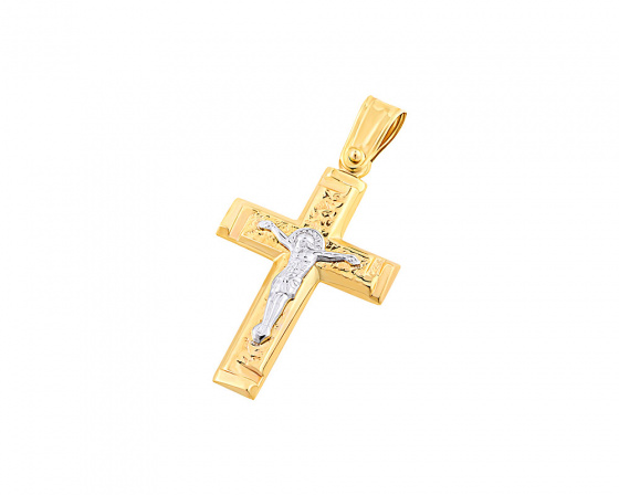 "Image of ""Gold men's cross Κ9, T04719"""