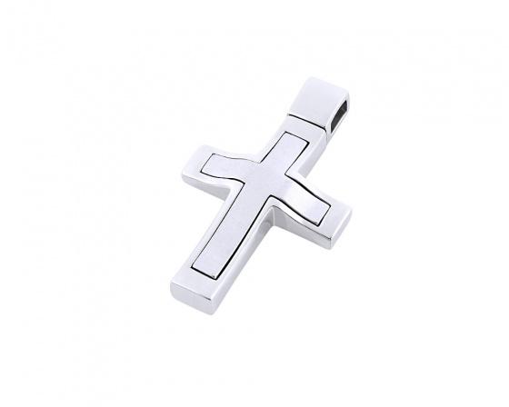 """Εικόνα του """"Λευκόχρυσος ανδρικός σταυρός Κ14, Τ01418"""""""