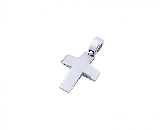 """Εικόνα του """"Λευκόχρυσος ανδρικός σταυρός Κ14, T03219"""""""