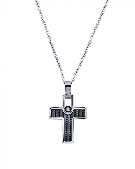 "Image of ""Men's stainless steel cross, P134"""