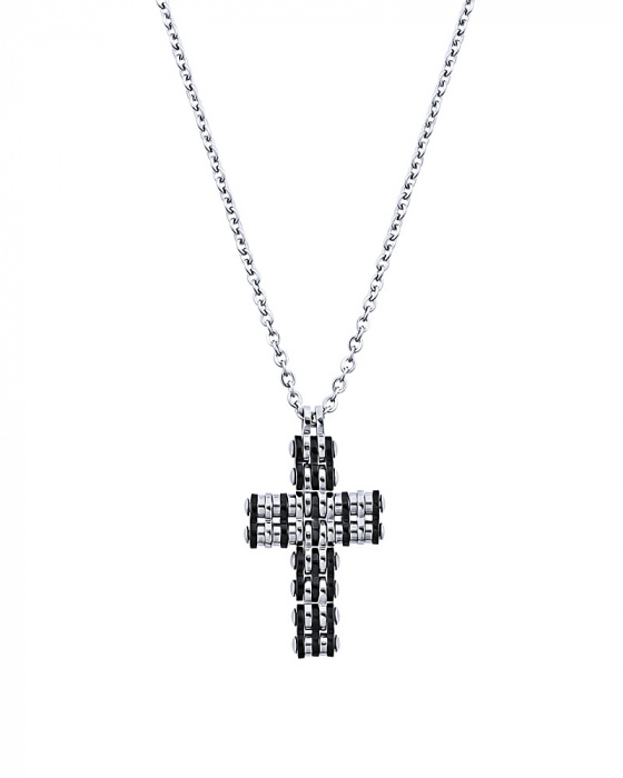 "Image of ""Men's stainless steel cross, P187"""