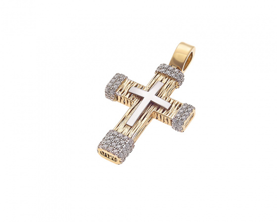 "Image of ""Gold women's cross Κ14, H134"""