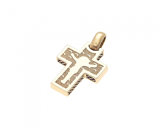 "Image of ""Gold men's cross K14, T022"""