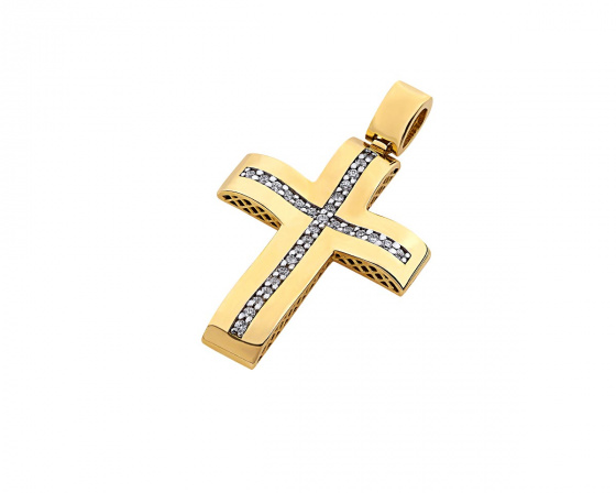 "Image of ""Gold women's cross Κ14, Τ00119"""
