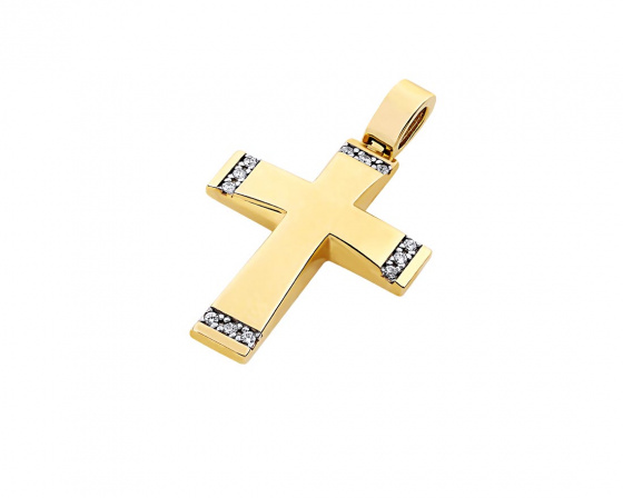 "Image of ""Gold women's cross Κ14, T00219"""