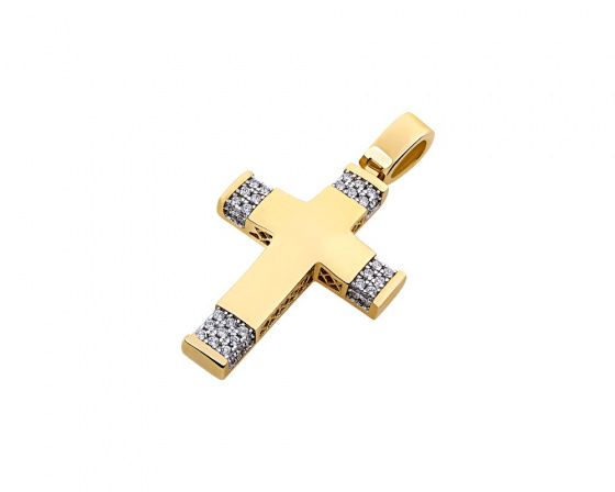 "Image of ""Gold women's cross Κ14, T00519"""