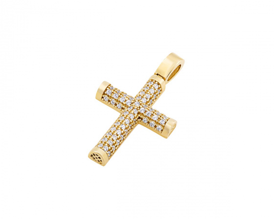 "Image of ""Gold women's cross Κ14, T01119"""