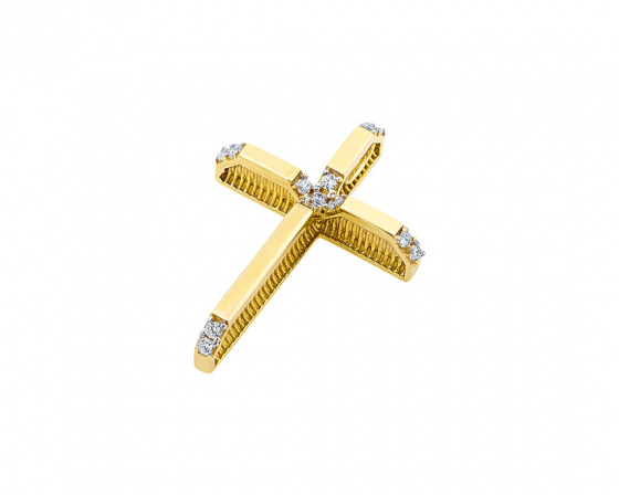 "Image of ""Gold women's cross Κ14, T01219"""