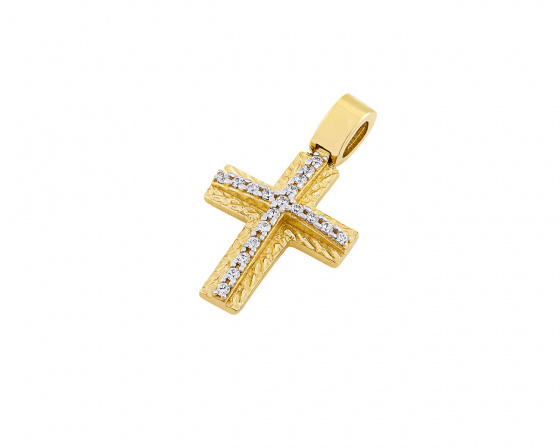"Image of ""Gold women's cross Κ14, T01319"""