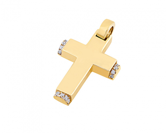 "Image of ""Gold women's cross Κ14, T01719"""