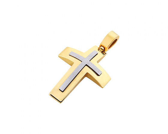 "Image of ""Gold men's cross Κ14, T02119"""