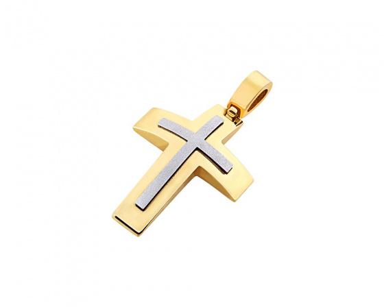 """Εικόνα του """"Χρυσός ανδρικός σταυρός Κ14, T02119"""""""