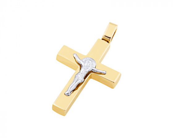 "Image of ""Gold men's cross Κ14, T02219"""
