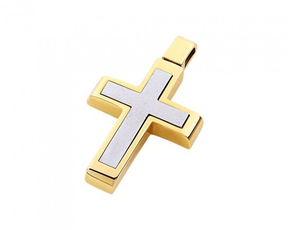 "Image of ""Gold men's cross Κ14, T02319"""