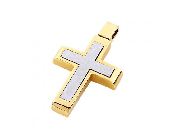 """Εικόνα του """"Χρυσός ανδρικός σταυρός Κ14, T02319"""""""