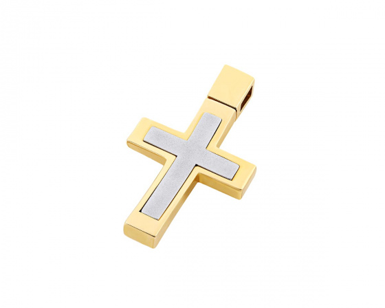 "Image of ""Gold men's cross Κ14, T02419"""