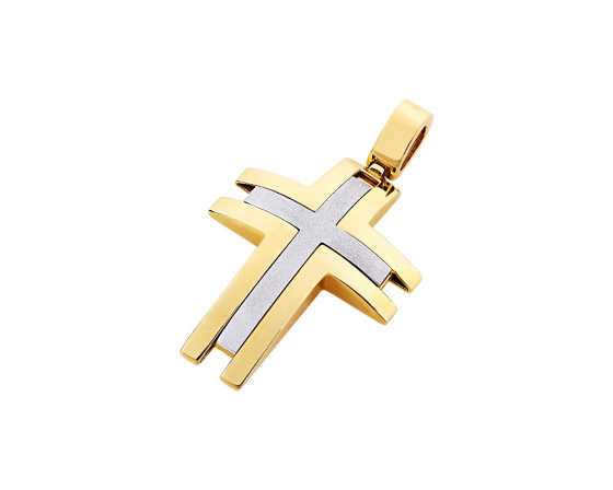 "Image of ""Gold men's cross Κ14, T02619"""