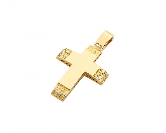 "Image of ""Gold women's cross Κ14, T02819"""