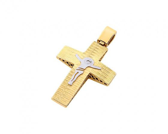 """Εικόνα του """"Χρυσός ανδρικός σταυρός Κ14, T02919"""""""