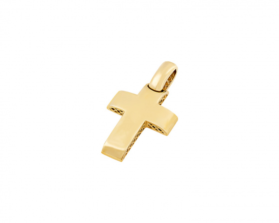 "Image of ""Gold men's cross Κ14, T03119"""