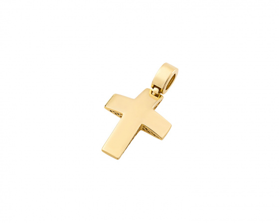 "Image of ""Gold men's cross Κ14, T03219"""