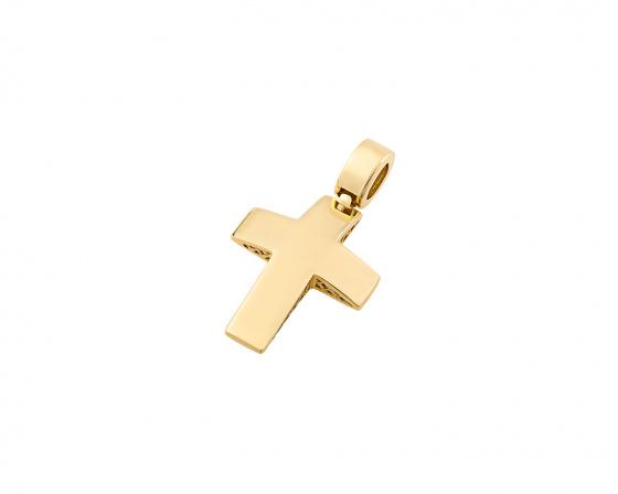 """Εικόνα του """"Χρυσός ανδρικός σταυρός Κ14, T03219"""""""